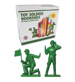 Toy Soldier Bookends Classic Large Green Figures BLUW | Oxfam GB | Oxfam's Online Shop