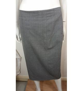 Tailored Formal Wool Skirt Austin Reed Size 10 Grey Oxfam Gb Oxfam S Online Shop