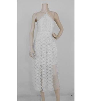 Asos Lace Dress White Size 10 Oxfam Gb Oxfams Online Shop