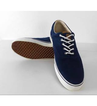 M\u0026S Collection Suede Plimsolls Trainers