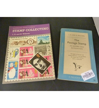 2 books by famous philatelists Norman and Maurice Williams