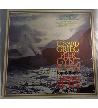 "Griegs ""Peer Gynt Suiten"" & ""Lyrische Suite"" LP  - 78 015"