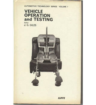 1969. Vehicle Operation and Testing