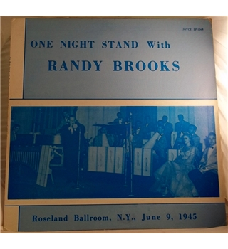 """One Night Stand With Randy Brooks"" LP - Joyce LP 1068"