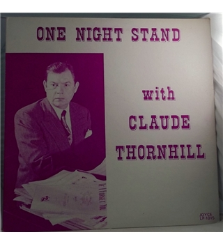 """One Night Stand With Claude Thornhill"" LP  - 1015"