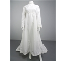 Lovely Handmade Vintage 70's White Size 10 Wedding Dress