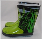 NWOT M&S, size 2/34.5 green Darth Vader wellies