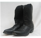 Masterson Boot Co. Size 15D Black Leather Cowboy Western Boots
