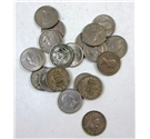 Twenty GB One shilling Coins