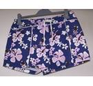 "Falmer - Size: 32"" - Blue with pink and white floral shorts"