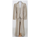 Victor Victoria size 12 gold trouser suit
