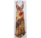 LM Collection Size:S psychedelic-coloured evening dress