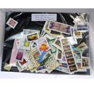 300 Foreign Stamps - mainly on-paper