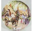 Royal Doulton 3458A - The Milkman by Stephen Cummins - Decorative Plate
