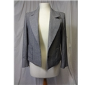 Jaeger Size: 8 Grey Hounds- Tooth Check Suit Jacket