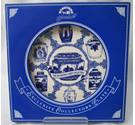 Ringtons 'The Decorative caddy collection' large blue and white platter 10-inch diameter.