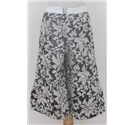NWOT Twisted Sister size: S black and cream patterned shorts