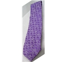Michelsons of London purple floral design tie