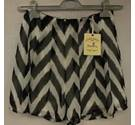 BNWT Urmoda size: M black and white shorts