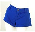 Abercrombie & Fitch Size 12 Vibrant Blue Cotton Short Shorts