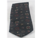 Cecil Jones black patterned tie