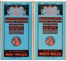 3 Bartholomew's 1960s revised half-inch contoured maps: Moray Firth, North Wales, Mid-Wales