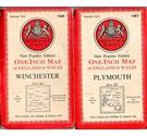 3 OS 1940s 'New Popular Edition' one inch maps