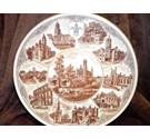 Wedgwood - The city of Wakefield centenary plate wedgwood , peter jones