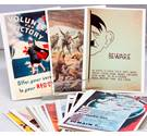 Reproduction 60 images of War -Postcards