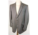 "Burberrys Size 42"" chest, reg fit Light & Dark Brown Wallace Tartan Check Stylish Wool Designer Single Breasted Blazer"