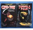 TUNNELS OF FEAR & CAVES OF FURY - Battle Quest Adventure Gamebooks - Thraves