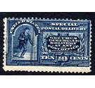 US 1888 Special Delivery stamp, 10 cents