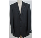 NWOT M&S Collezione size: 40L grey pinstripe single breasted suit jacket