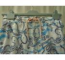 M&S Blue/White Shorts, Elasticated, Age 13-14 M&S Marks & Spencer - Size: 14 - 15 Years - Blue - Surf shorts