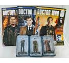 9th and 10th Doctor and Rassilon - Doctor Who Figurine - New In Box