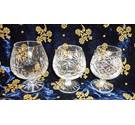 3 Large Brandy Glasses Not specified