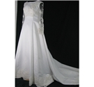 Size S/M ivory wedding dress
