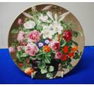 Wedgwood Great Floral Painters 20cm Plate 'Still Life With Fruit And Flowers'