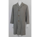 Interlined with Equatic 1990's Houndstooth Coat Beige & Brown Size: L