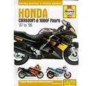 Honda CBR600F1 & 100F Fours service & repair manual