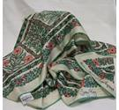 Rare Vintage Jacqmar Silk Scarf by Lesley King Jacqmar - Size: One size - Multi-coloured - Scarf