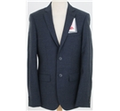 "NWOT M&S Collection size: 36"" L indigo single breasted suit jacket"