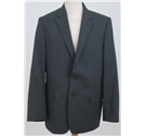 Jaeger size: 42S grey pinstriped ingle breasted suit jacket