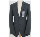 NWOT M&S Collection size: 36L grey pinstriped single breasted suit jacket