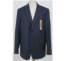 NWOT M&S Collezione size 44M navy blue single breasted suit jacket
