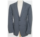 NWOT M&S Collection Luxury size: 42L grey pinstriped single breasted suit jacket