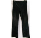 Giant Size: M - Black Satin Evening Trousers