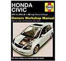Haynes Manual - Honda Civic 2001-2005 Petrol and Diesel