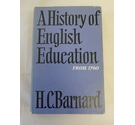 A History of English Education From 1760