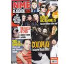 Batch of four NME magazines